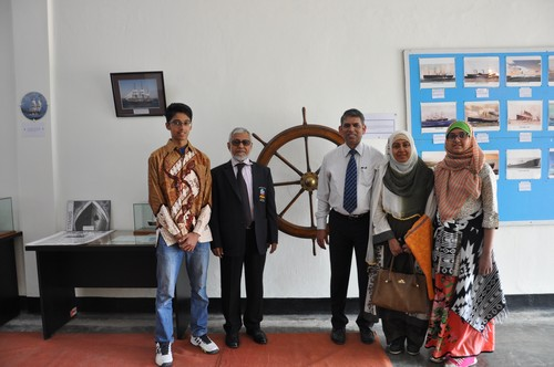 Visit of Mr.M.A. Baten, Chief Engineer (1)