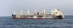 Cargo Fire Peters Out on British Bulk Carrier MV Cheshire Off Canary Islands