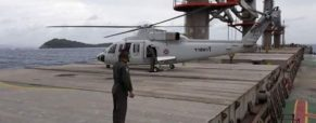 Sick Bangladeshi seaman airlifted from a vessel while in transit in the Thai waters