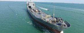 Iran's Guards Launch 'Aircraft Carrier' Warship -State Media